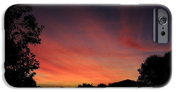 Suburban Sunrise IPhone Case by Andrea Kappler