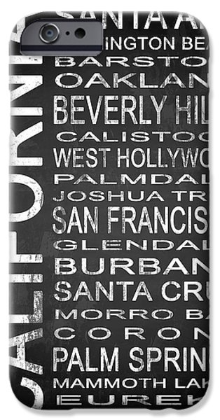 Subway California State 1 IPhone 6s Case by Melissa Smith