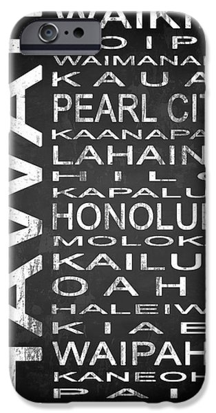 Subway Hawaii State 1 IPhone Case by Melissa Smith