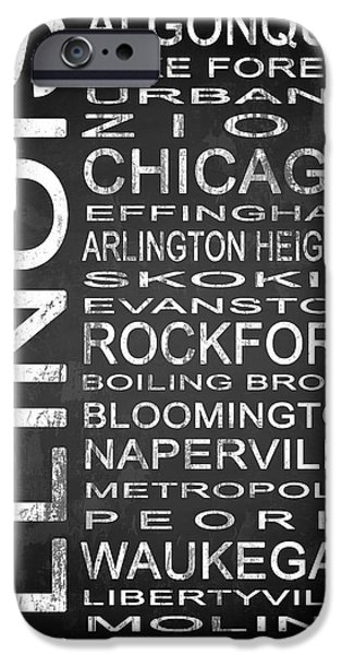 Subway Illinois State 1 IPhone Case by Melissa Smith
