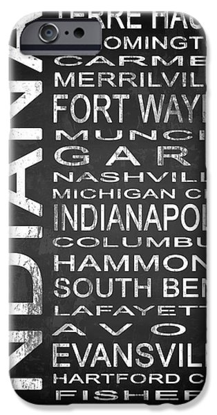 Subway Indiana State 1 IPhone Case by Melissa Smith