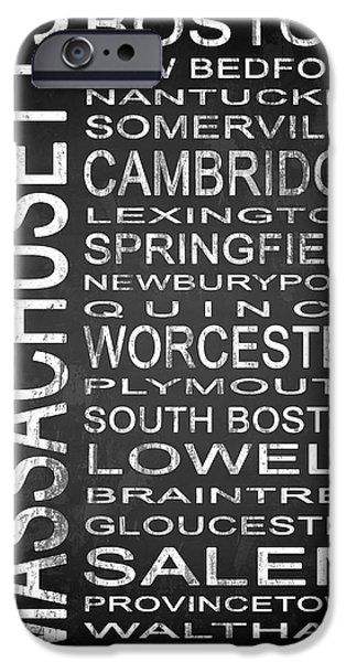 Subway Massachusetts State 1 IPhone Case by Melissa Smith