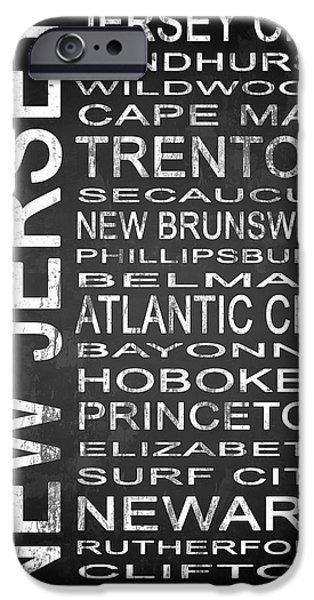 Subway New Jersey State 1 IPhone Case by Melissa Smith