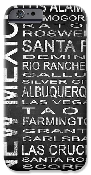 Subway New Mexico State 1 IPhone Case by Melissa Smith