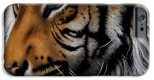 Sumatran Tiger Profile IPhone 6s Case by Jurek Zamoyski