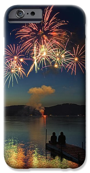 Summer Fireworks IPhone Case by Darylann Leonard Photography