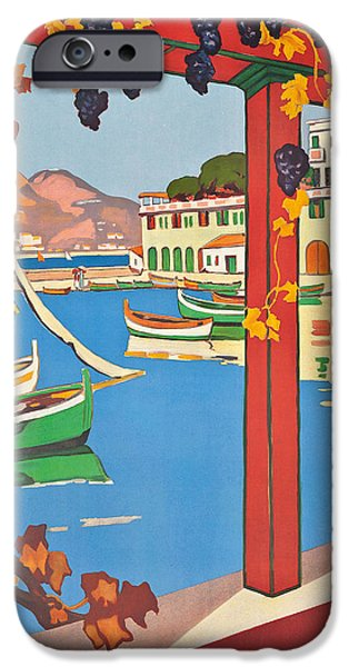 Summer On The Cote D Azur IPhone Case by Guillaume Georges Roger