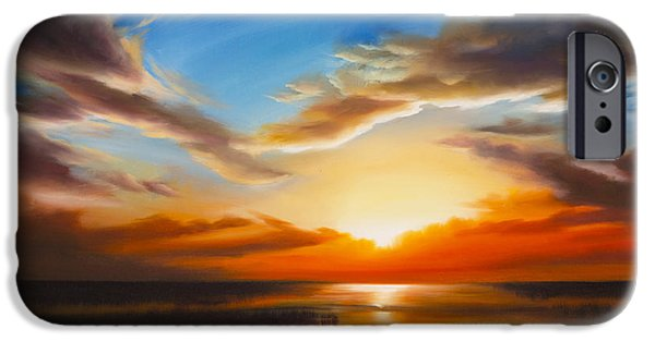 Sundown IPhone Case by James Christopher Hill