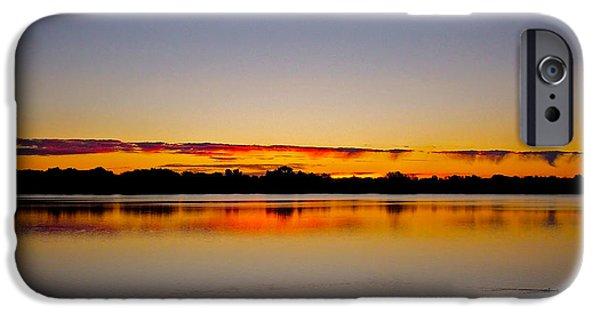Sunrise On Riviere Des Mille-iles IPhone Case by Juergen Weiss