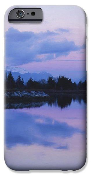 Sunset Art - Nature's Painting IPhone Case by Jordan Blackstone