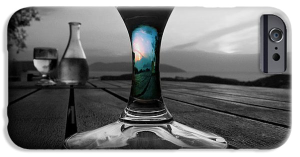 Sunset Cafe IPhone 6s Case by Micki Findlay