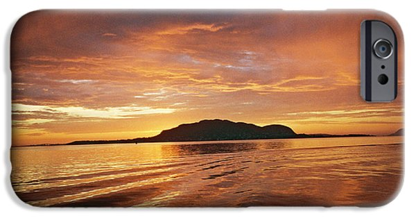 Sunset In Alesund IPhone Case by Christine Rivers