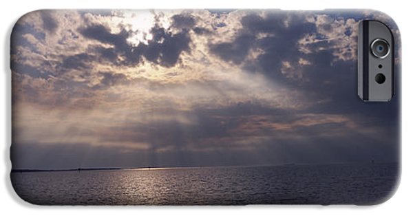 Sunset Over The Sea, Gulf Of Mexico IPhone Case by Panoramic Images