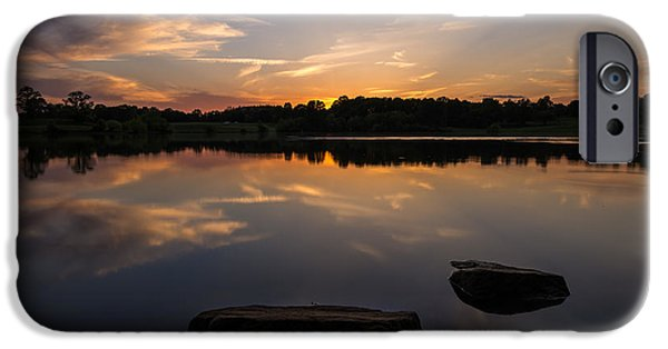 Sunset Reflecting IPhone Case by Kristopher Schoenleber