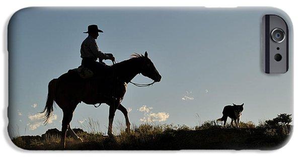 Sunset Ride IPhone Case by Amanda Smith