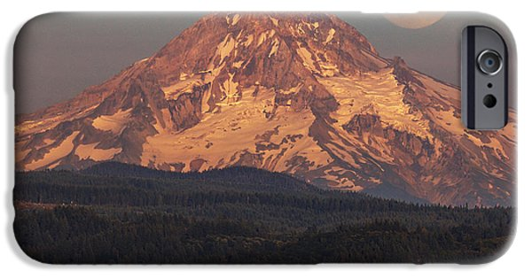 Super Moon Rising IPhone Case by Angie Vogel