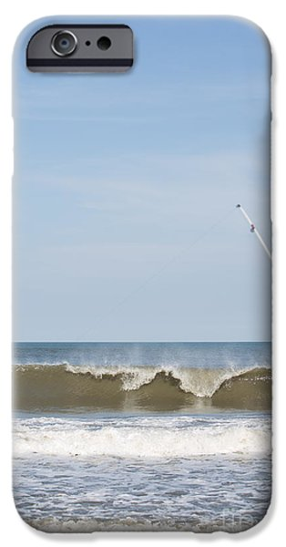 Surf Fishing IPhone Case by Kay Pickens