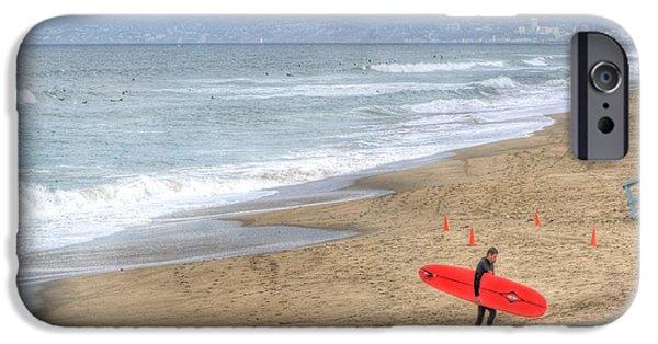 Surfer Boy IPhone Case by Juli Scalzi