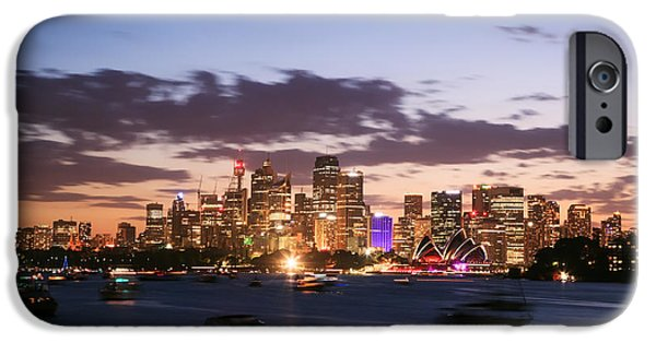 Sydney Skyline At Dusk Australia IPhone 6s Case by Matteo Colombo