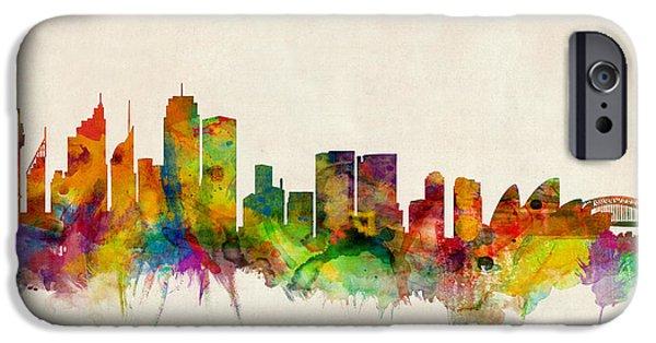 Sydney Skyline IPhone 6s Case by Michael Tompsett