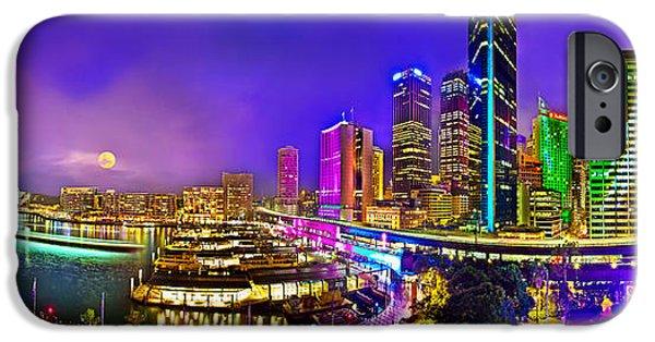 Sydney Vivid Festival IPhone Case by Az Jackson