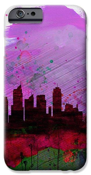 Sydney Watercolor Skyline 2 IPhone 6s Case by Naxart Studio