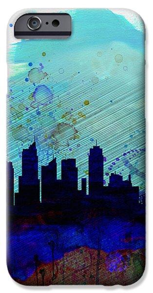 Sydney Watercolor Skyline IPhone 6s Case by Naxart Studio