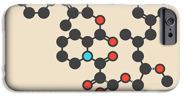 Tacrolimus Immunosuppressant Molecule IPhone Case by Molekuul