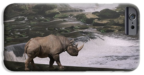 Taking A Stroll  IPhone Case by Jack Zulli