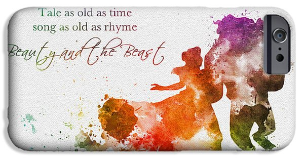 Tale As Old As Time IPhone Case by Rebecca Jenkins