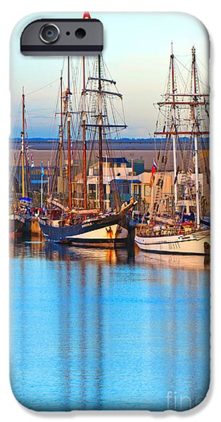 Tall Ships IPhone Case by Bill  Robinson