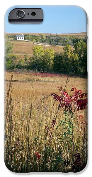 Tallgrass Prairie IPhone Case by Jim West