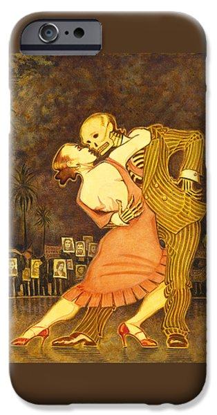 Tango En La Plaza De Mayo IPhone Case by Ruth Hooper