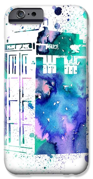 Tardis IPhone Case by Luke and Slavi