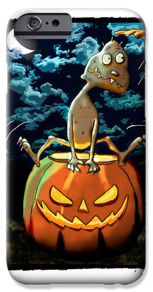 Tater Head In Pumpkin IPhone Case by Star  Mudersbach
