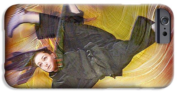 Taylor Lynch Action Portrait IPhone Case by Salakot