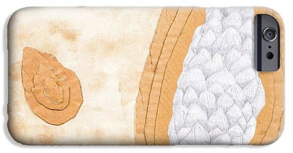 Tea Stained Pine Cones IPhone Case by Amanda And Christopher Elwell