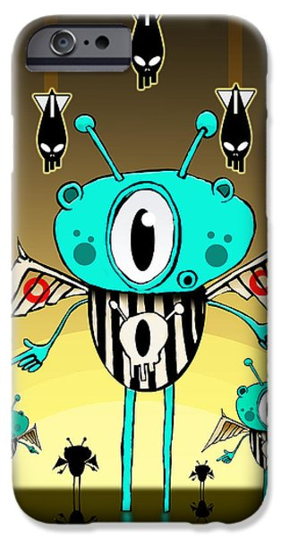 Team Alien IPhone 6s Case by Johan Lilja