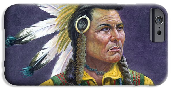 Tecumseh IPhone Case by Gregory Perillo