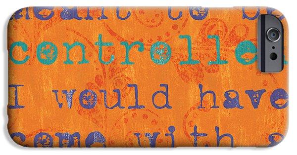 Teen Inspirational 1 IPhone Case by Debbie DeWitt