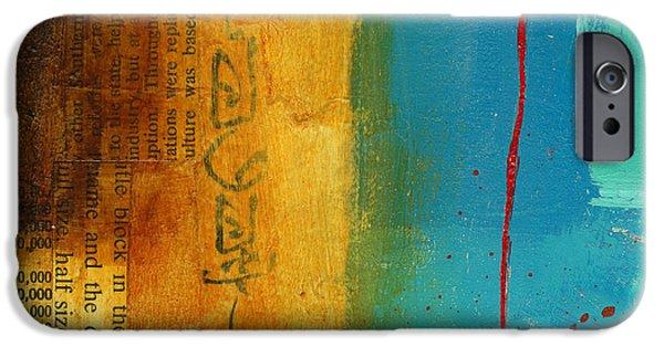 Teeny Tiny Art 111 IPhone Case by Jane Davies