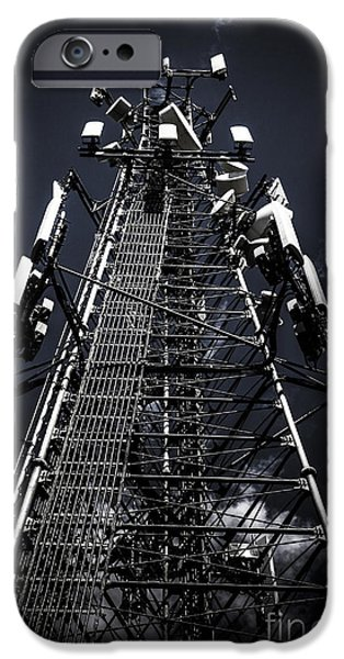 Telecommunications Tower IPhone Case by Jorgo Photography - Wall Art Gallery