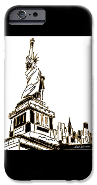 Tenement Liberty IPhone 6s Case by Nicholas Biscardi