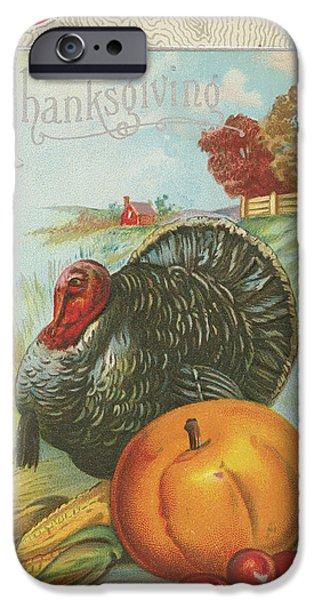 Thanksgiving Postcards I IPhone 6s Case by Wild Apple Portfolio