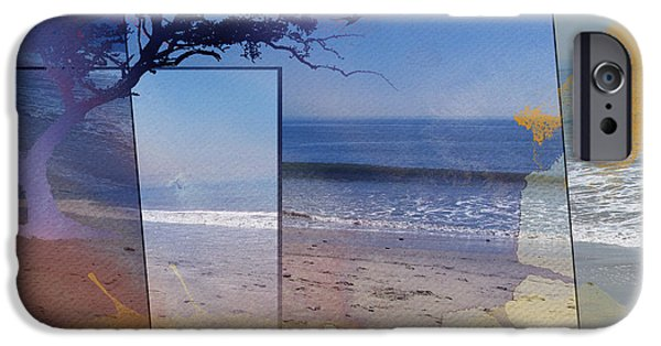 The Abstract Beach IPhone Case by Bedros Awak