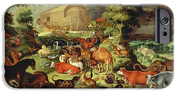 The Animals Entering The Ark IPhone 6s Case by Jacob II Savery