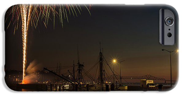 The Annual July Fourth Fireworks IPhone Case by Robert L. Potts