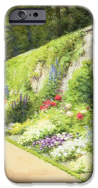 The Artists Garden IPhone Case by Joseph Farquharson