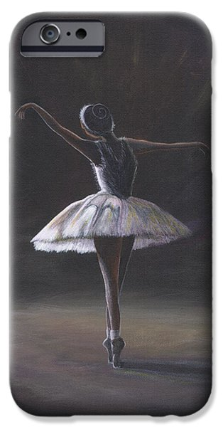 The Ballerina IPhone Case by Beckie J Neff