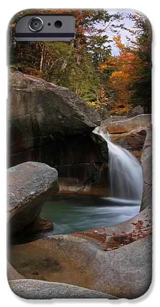 The Basin In The New Hampshire White Mountain National Forest IPhone Case by Juergen Roth